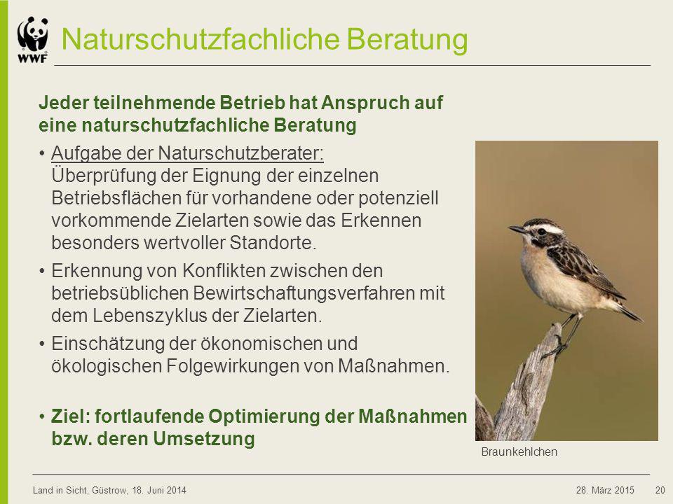 Naturschutzfachliche Beratung