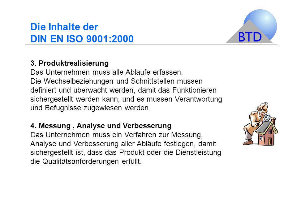 Die Inhalte der DIN EN ISO 9001:2000