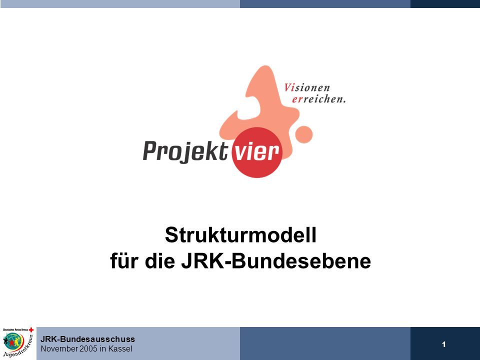 Strukturmodell für die JRK-Bundesebene