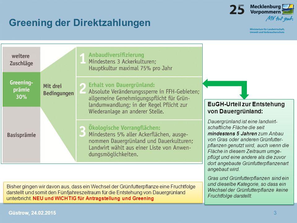 Greening der Direktzahlungen