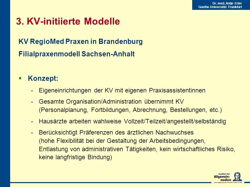3. KV-initiierte Modelle
