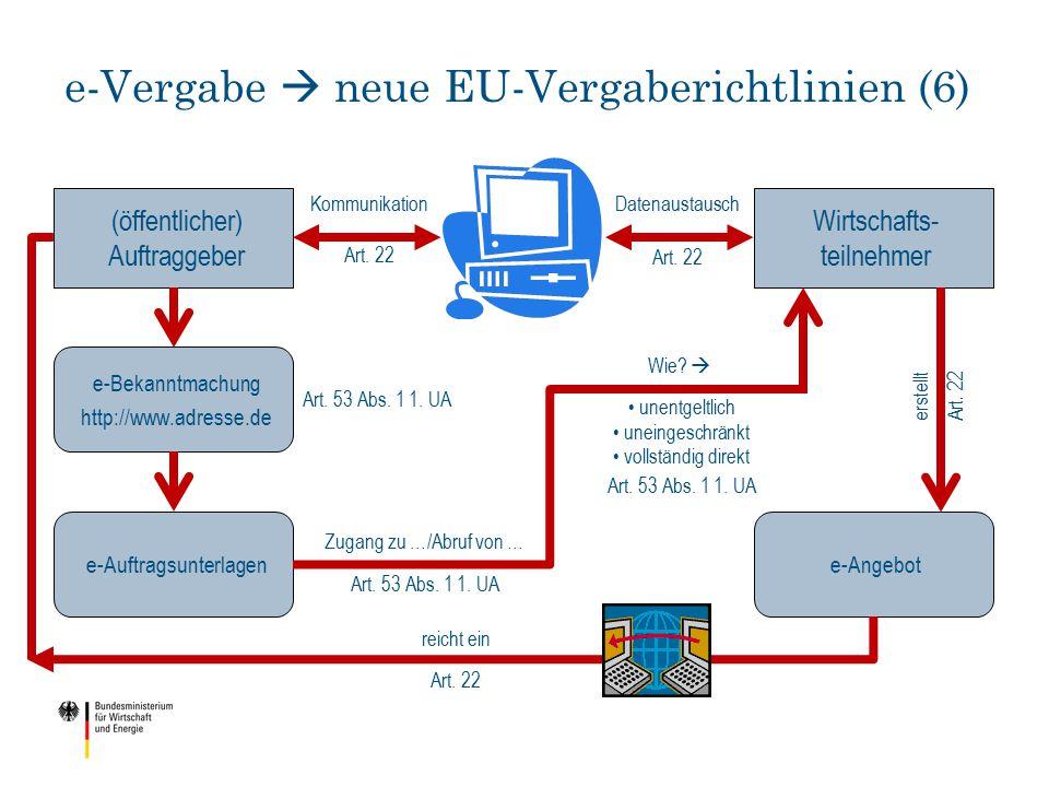 e-Vergabe  neue EU-Vergaberichtlinien (6)