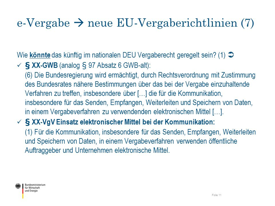 e-Vergabe  neue EU-Vergaberichtlinien (7)