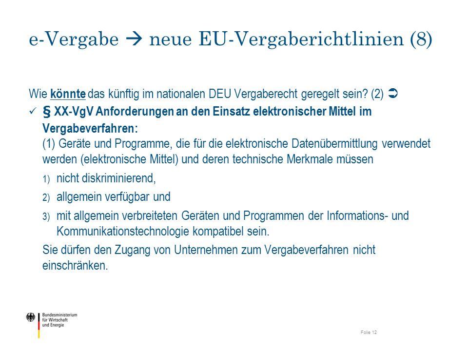e-Vergabe  neue EU-Vergaberichtlinien (8)