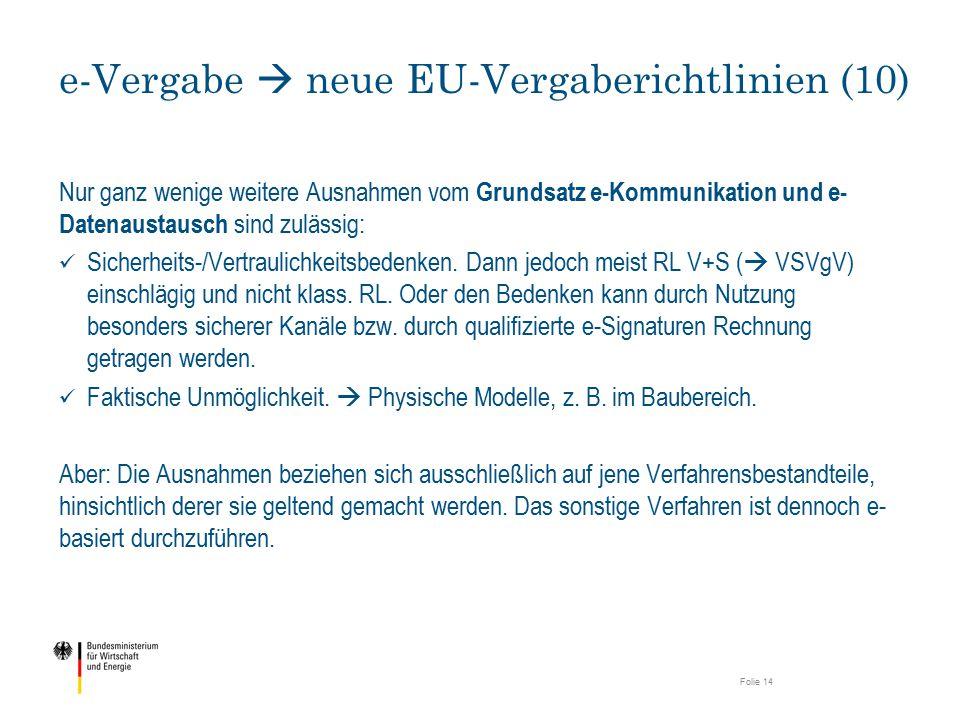 e-Vergabe  neue EU-Vergaberichtlinien (10)