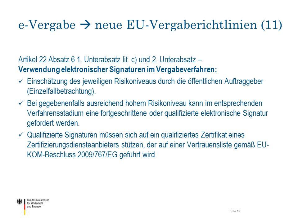 e-Vergabe  neue EU-Vergaberichtlinien (11)