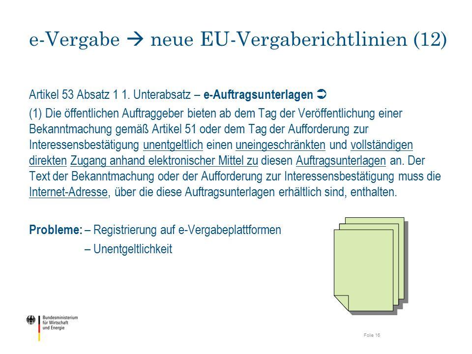 e-Vergabe  neue EU-Vergaberichtlinien (12)