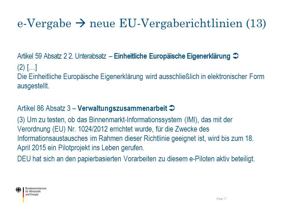 e-Vergabe  neue EU-Vergaberichtlinien (13)
