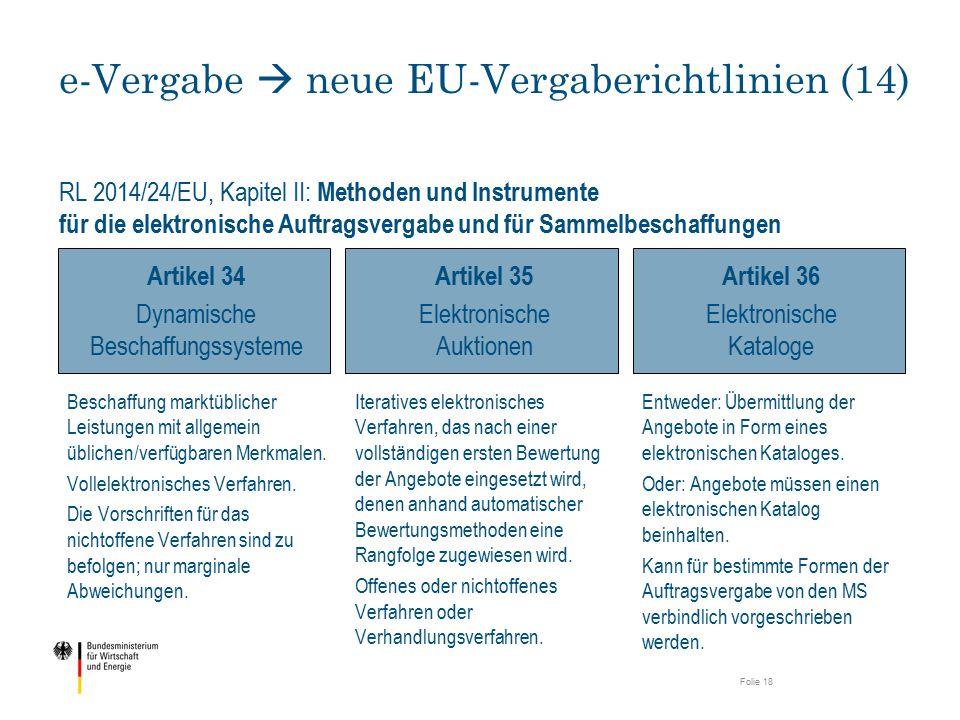 e-Vergabe  neue EU-Vergaberichtlinien (14)