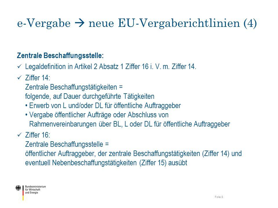 e-Vergabe  neue EU-Vergaberichtlinien (4)