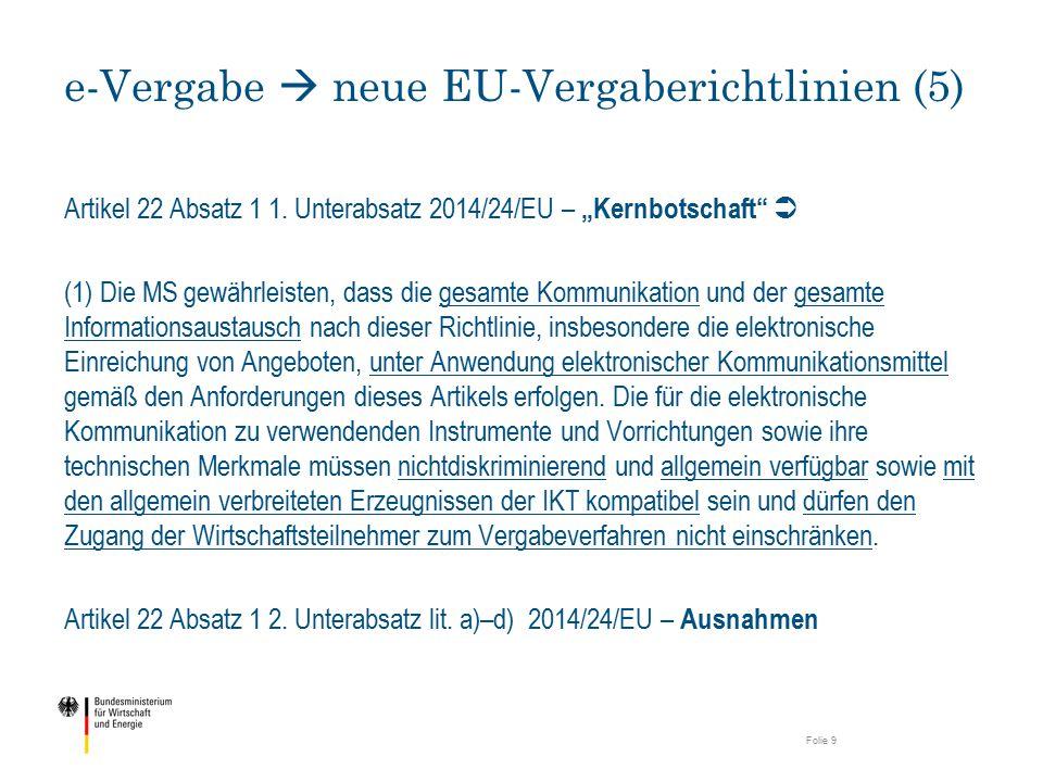 e-Vergabe  neue EU-Vergaberichtlinien (5)