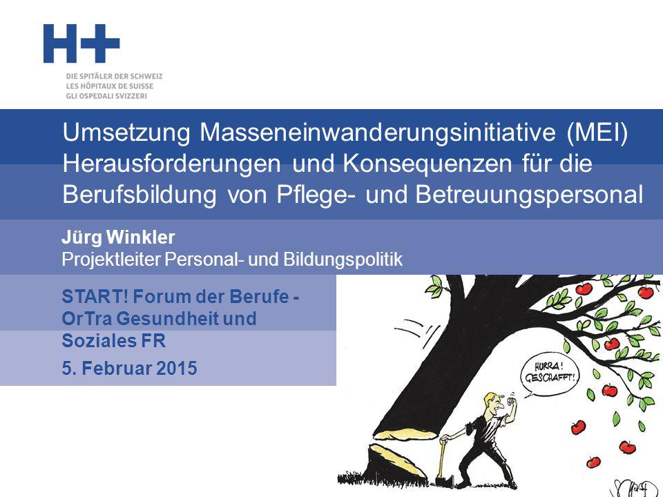 Jürg Winkler Projektleiter Personal- und Bildungspolitik
