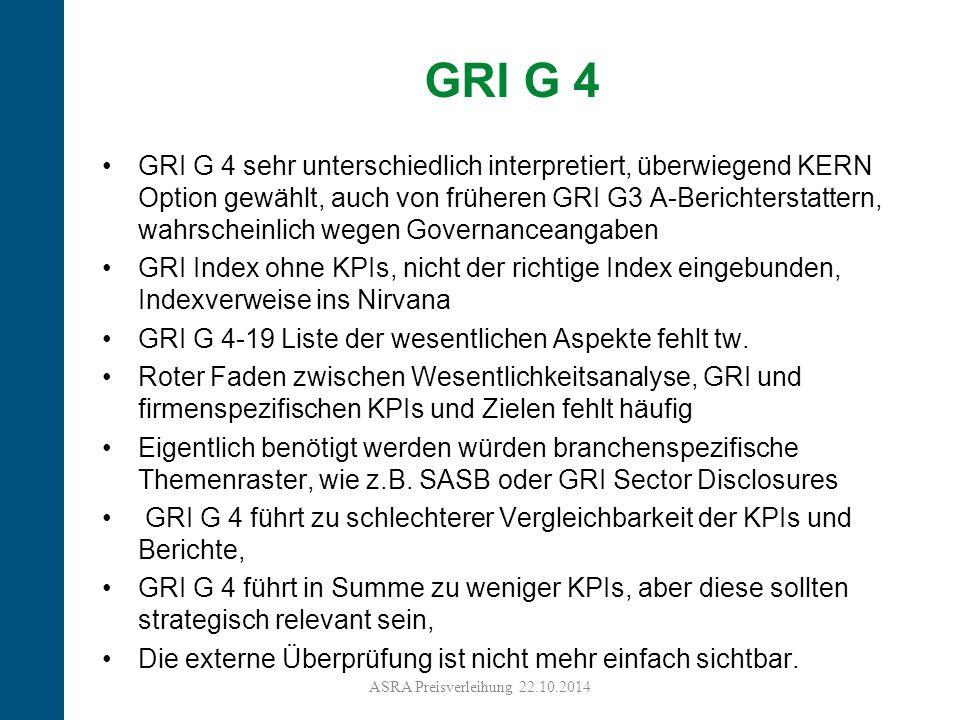 GRI G 4