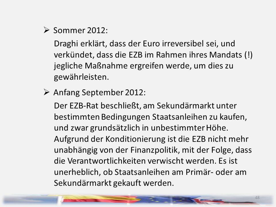 Sommer 2012: