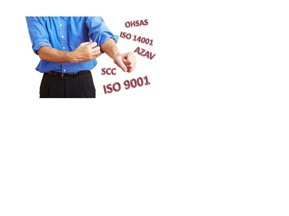 OHSAS ISO 14001 AZAV SCC ISO 9001