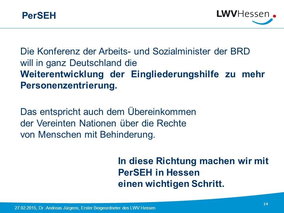 PerSEH Die Konferenz der Arbeits- und Sozialminister der BRD. will in ganz Deutschland die.
