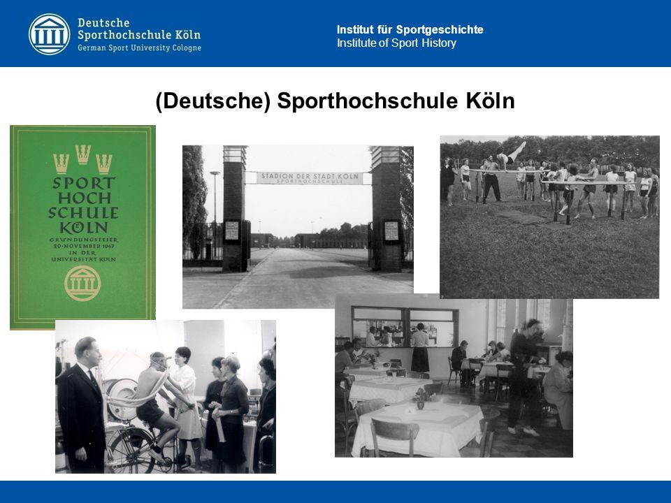 (Deutsche) Sporthochschule Köln