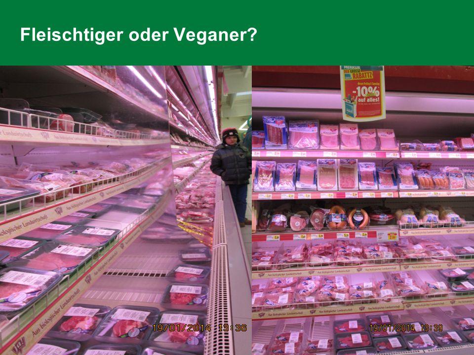 Fleischtiger oder Veganer