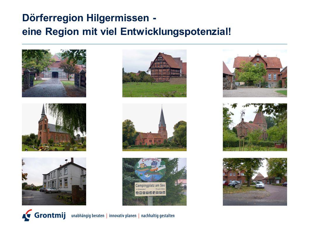 Dörferregion Hilgermissen - eine Region mit viel Entwicklungspotenzial!