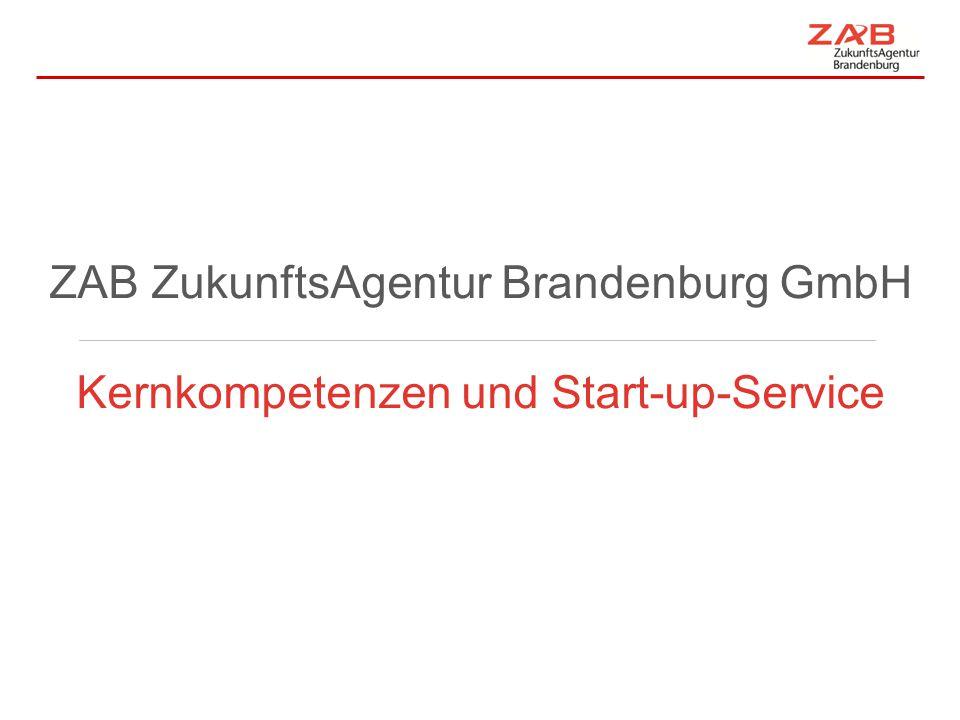 ZAB ZukunftsAgentur Brandenburg GmbH
