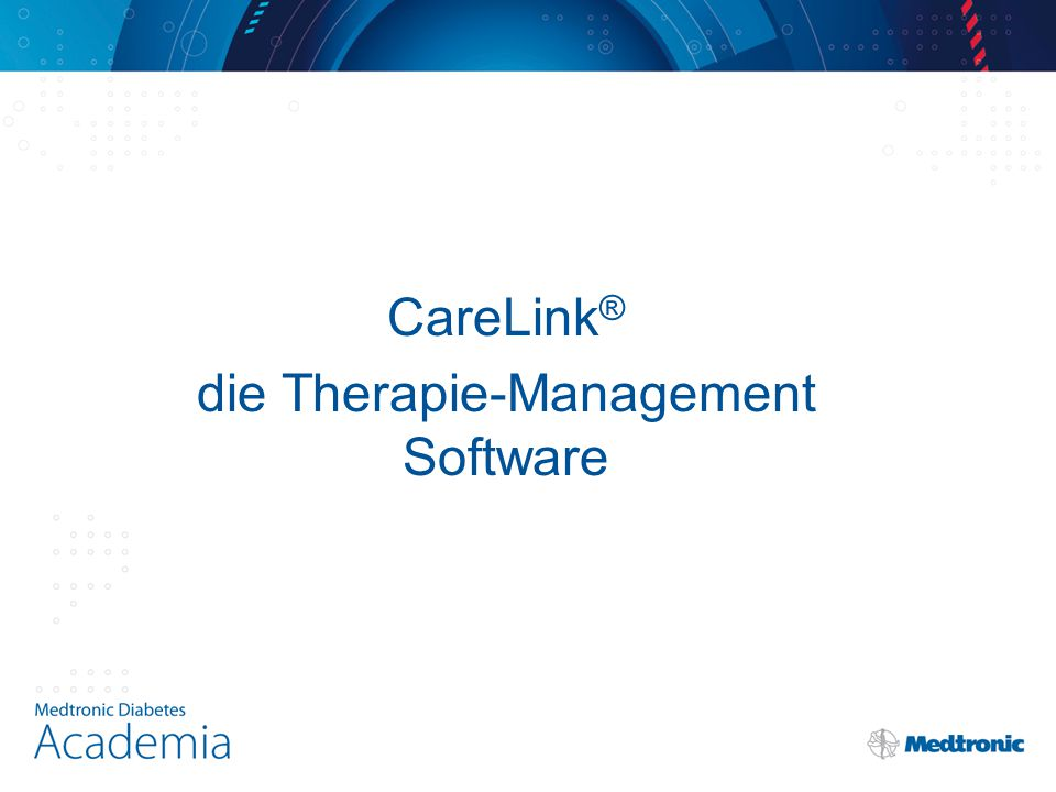die Therapie-Management Software