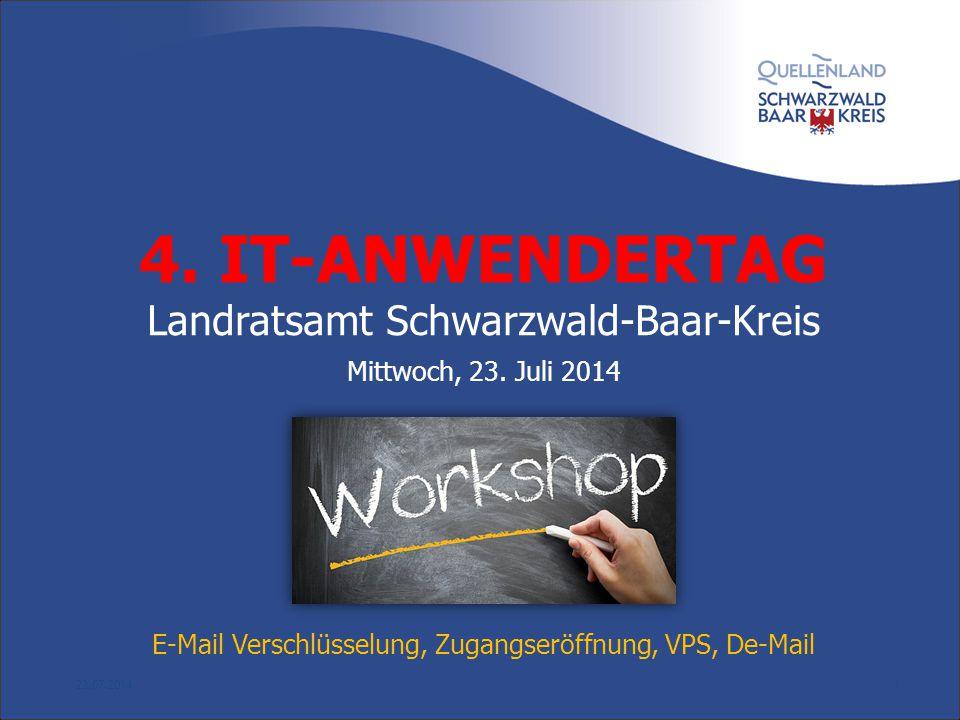 4. IT-ANWENDERTAG Landratsamt Schwarzwald-Baar-Kreis