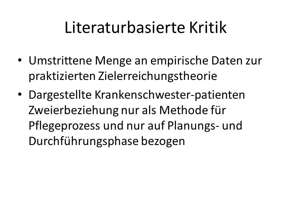 Literaturbasierte Kritik