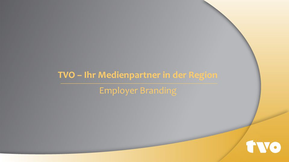 TVO – Ihr Medienpartner in der Region