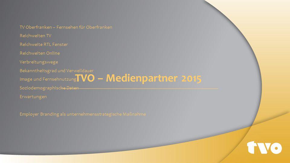 TVO – Medienpartner 2015 TV Oberfranken – Fernsehen für Oberfranken