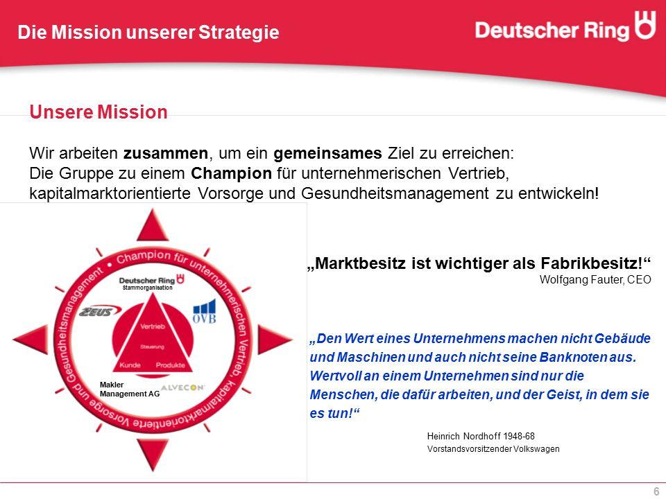 Die Mission unserer Strategie