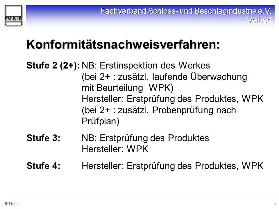 Konformitätsnachweisverfahren: