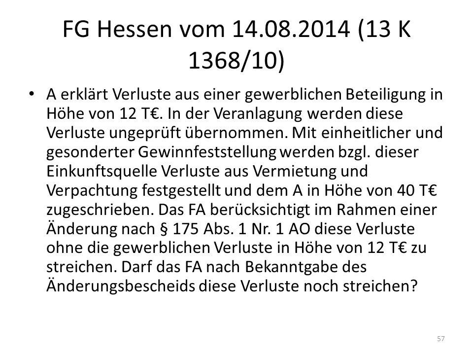 FG Hessen vom 14.08.2014 (13 K 1368/10)