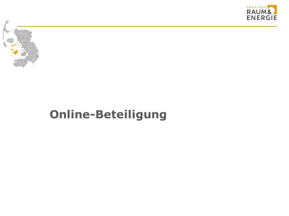 Online-Beteiligung