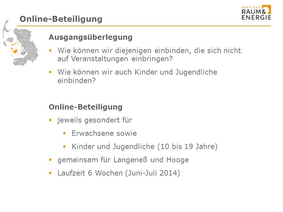 Online-Beteiligung Ausgangsüberlegung