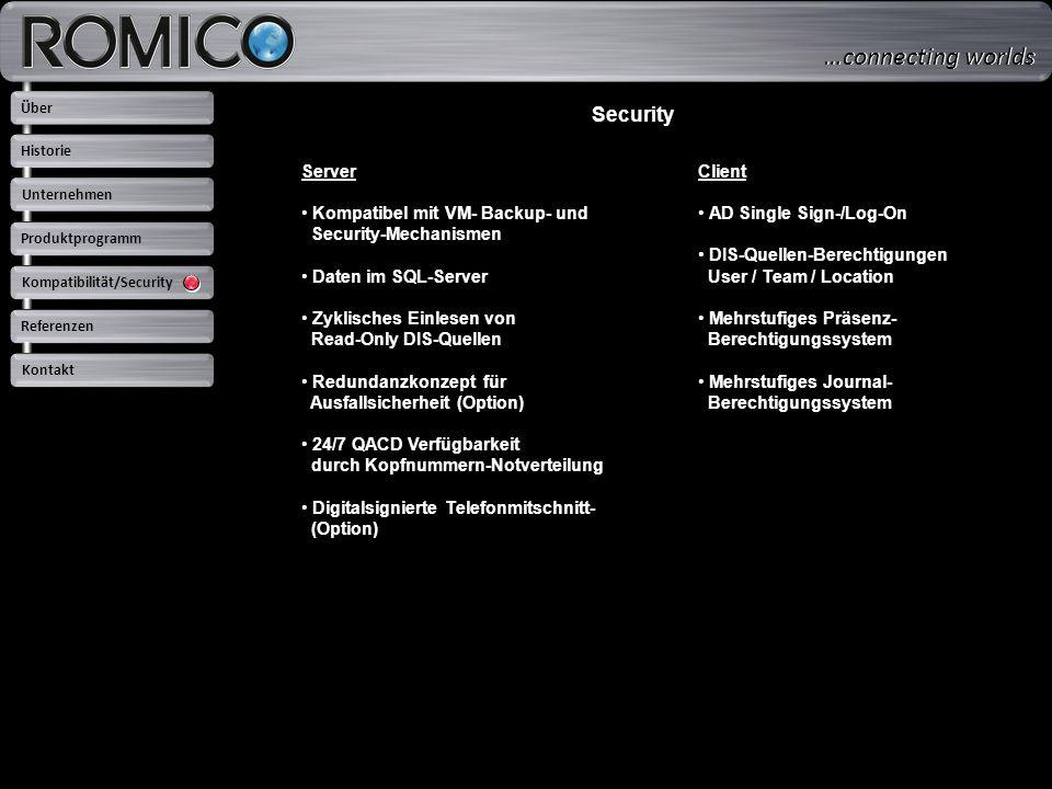 …connecting worlds Security Server Kompatibel mit VM- Backup- und