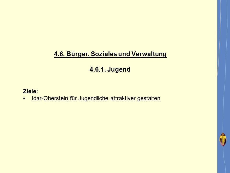 4.6. Bürger, Soziales und Verwaltung
