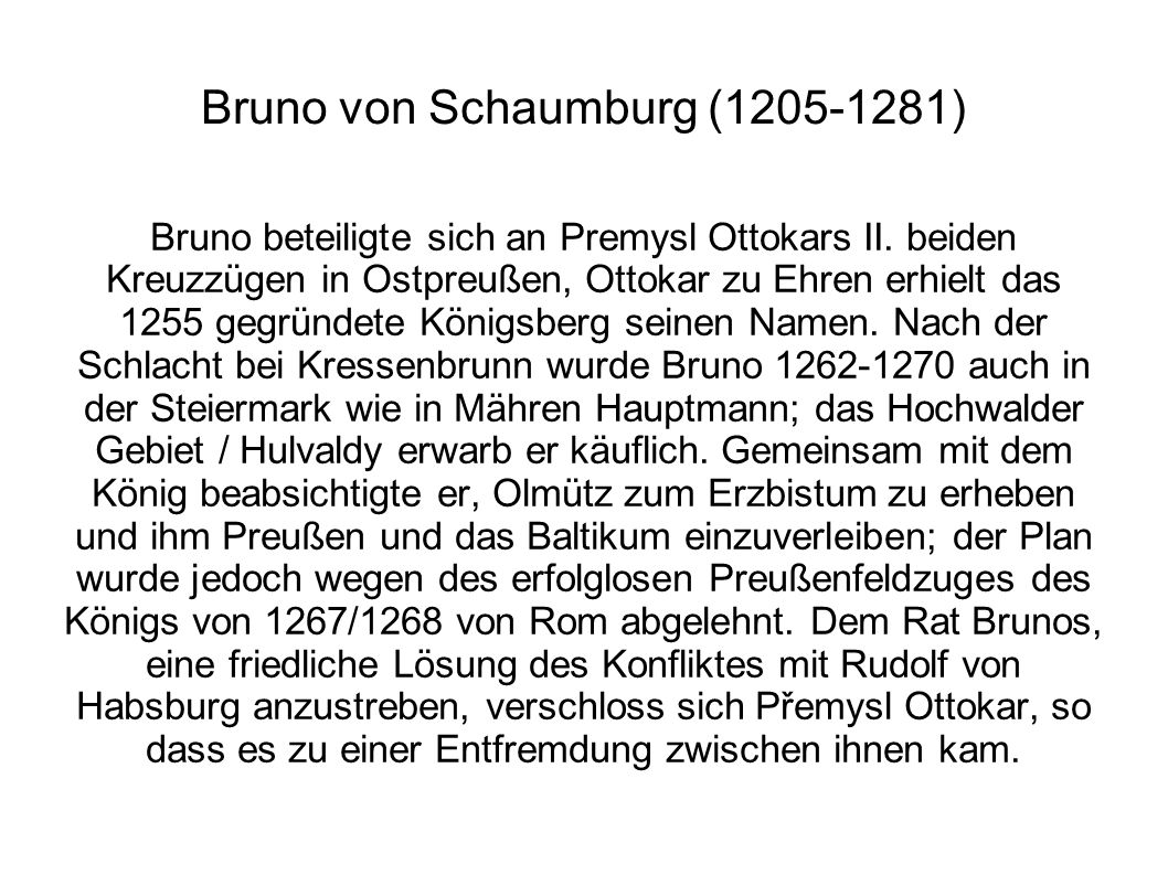 Bruno von Schaumburg (1205-1281)