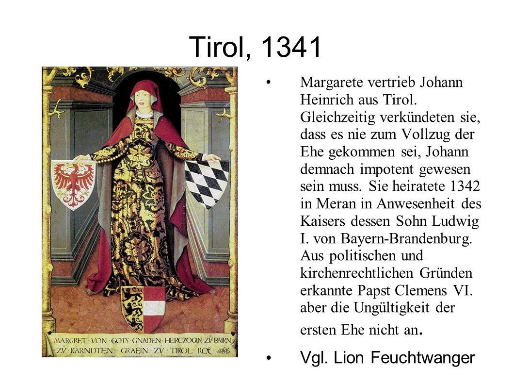 Tirol, 1341 Vgl. Lion Feuchtwanger