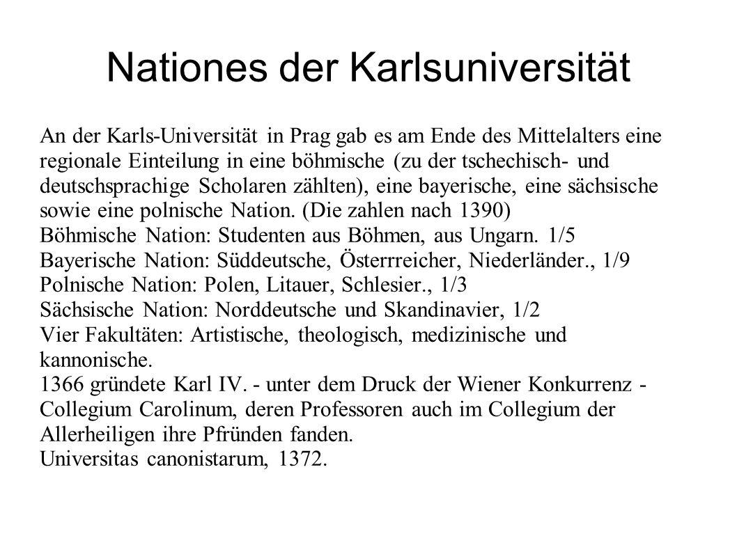 Nationes der Karlsuniversität