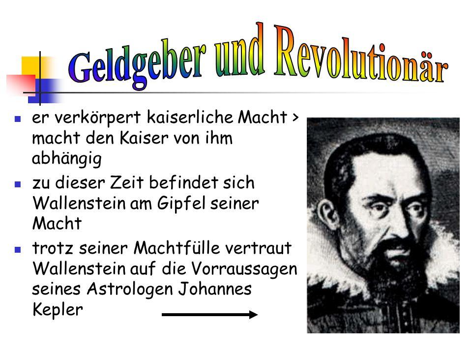 Geldgeber und Revolutionär