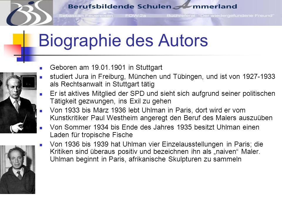 Biographie des Autors Geboren am 19.01.1901 in Stuttgart
