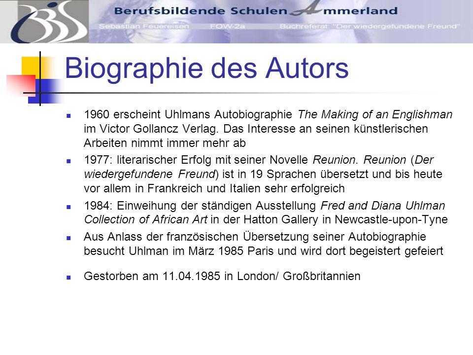 Biographie des Autors