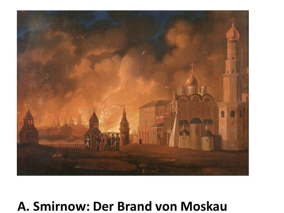 A. Smirnow: Der Brand von Moskau