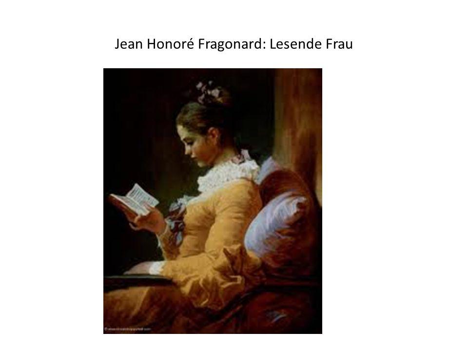 Jean Honoré Fragonard: Lesende Frau