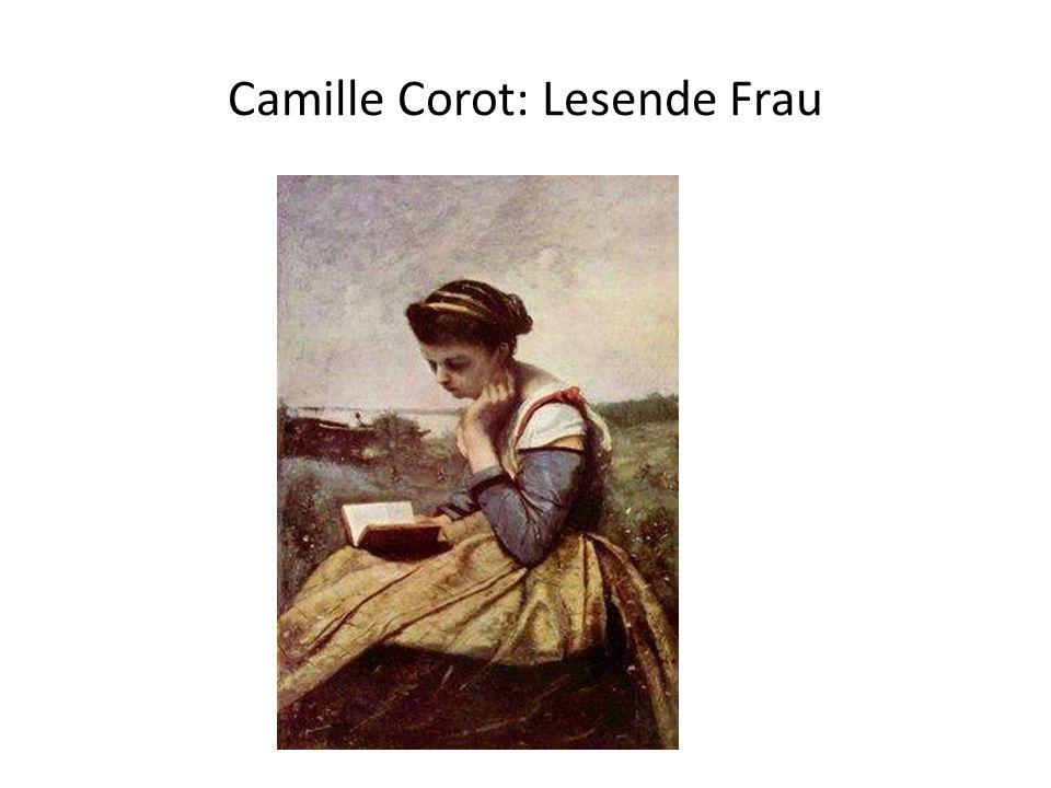 Camille Corot: Lesende Frau