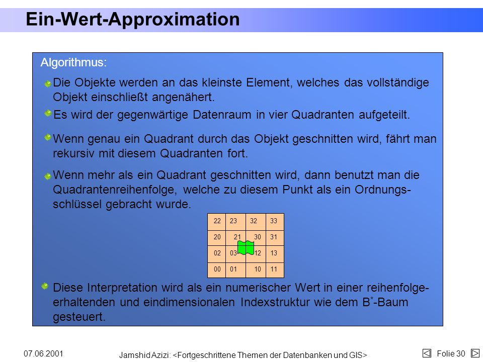 Ein-Wert-Approximation