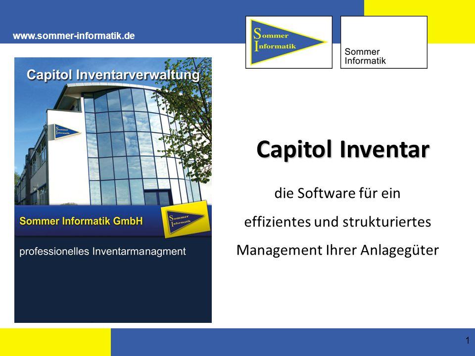 effizientes und strukturiertes Management Ihrer Anlagegüter