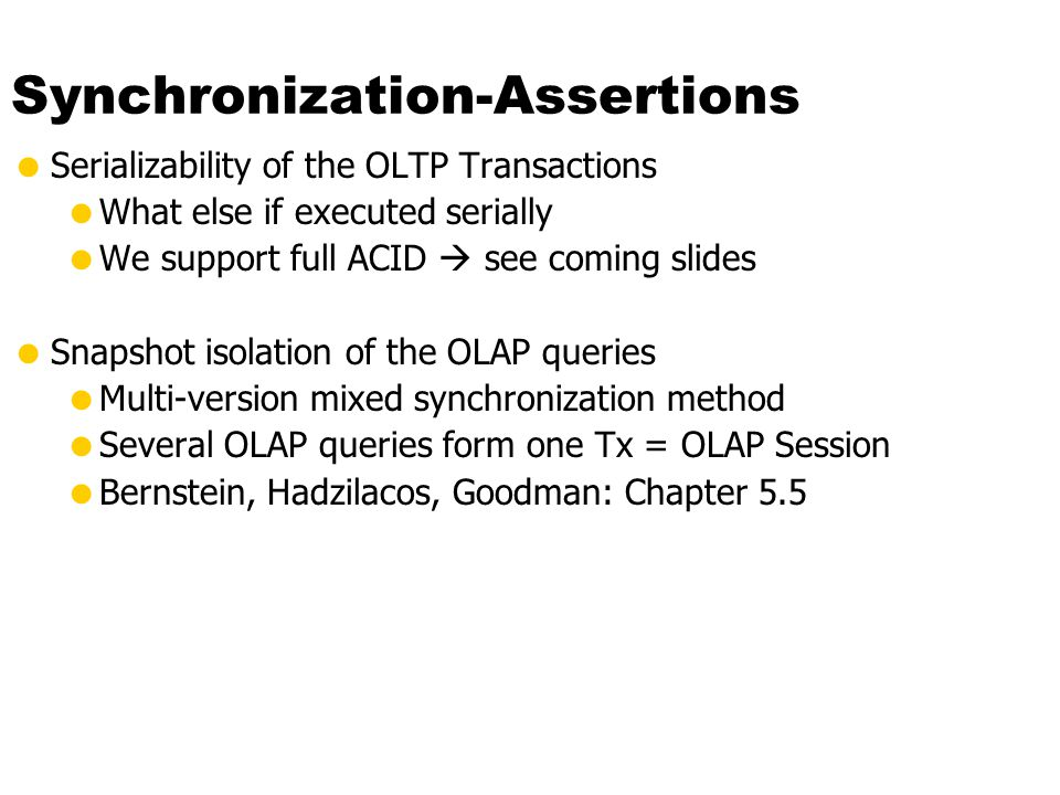Synchronization-Assertions