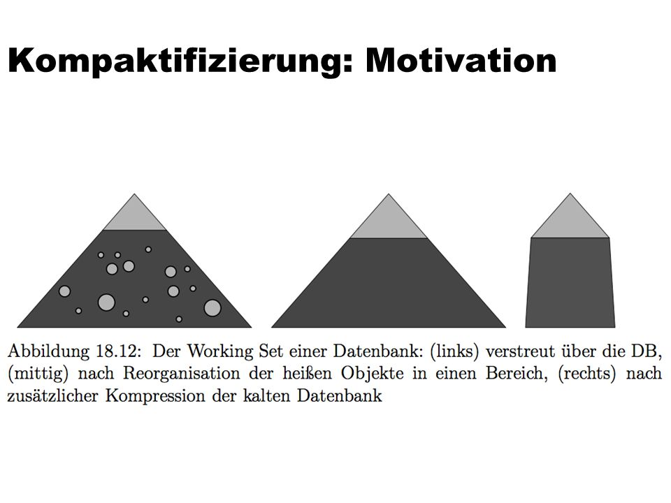 Kompaktifizierung: Motivation