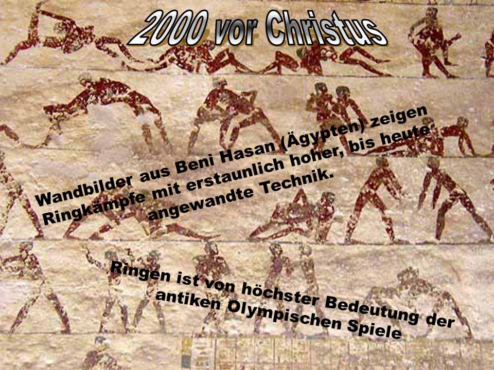 Ringen ist von höchster Bedeutung der antiken Olympischen Spiele
